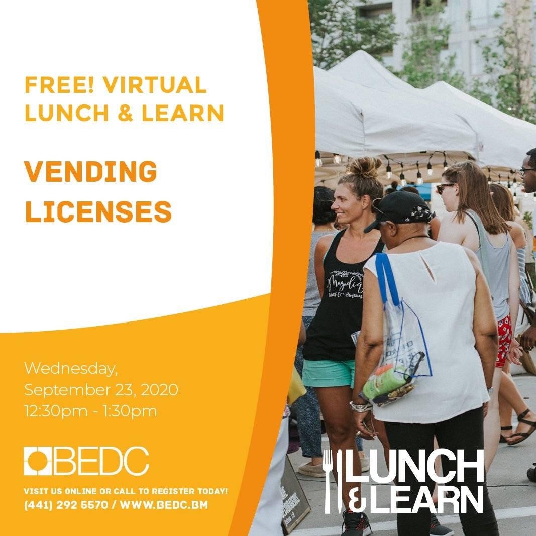 Lunch & Learn: Vending Licenses
