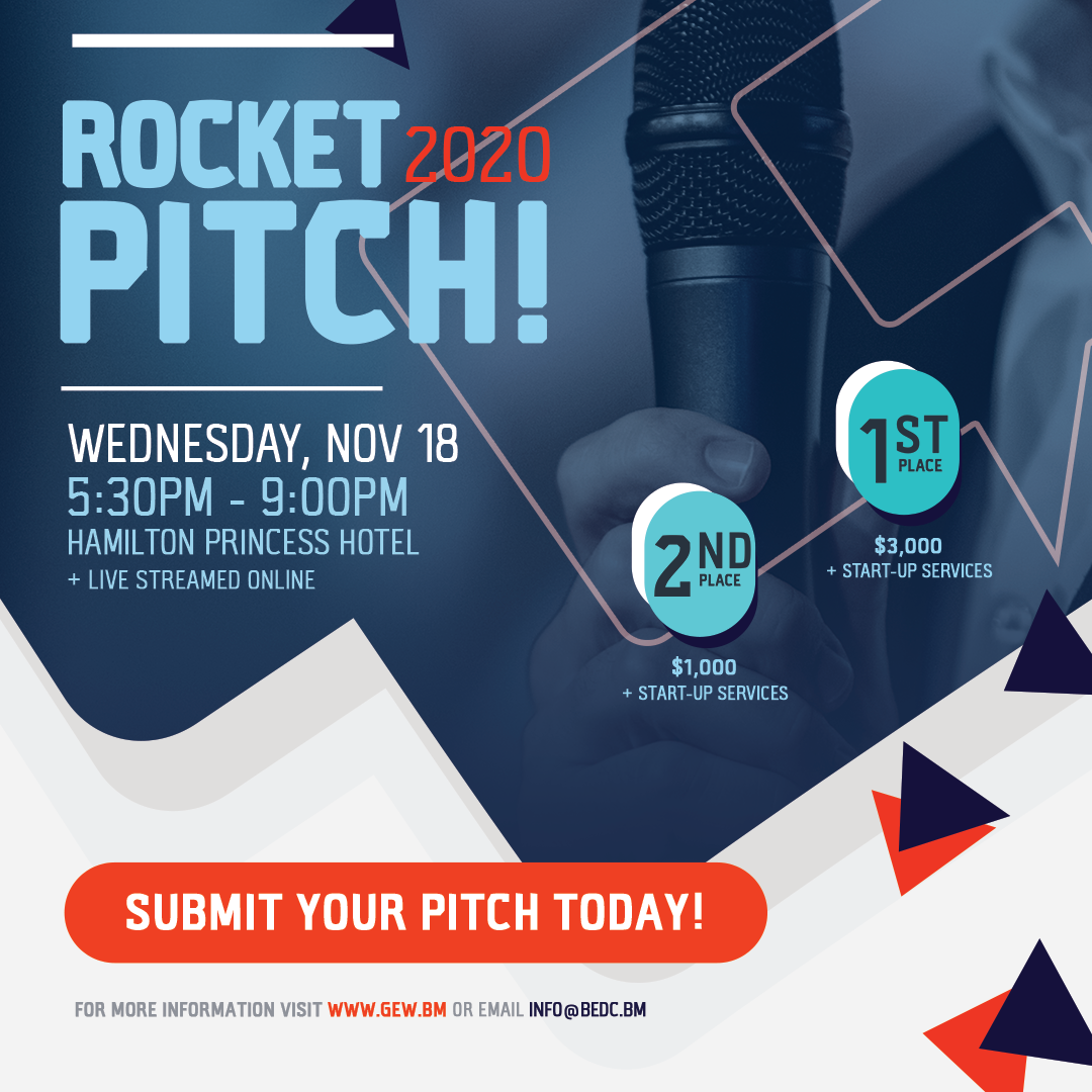 Pitch Your Business Idea in the 13th Annual Rocket Pitch Competition
