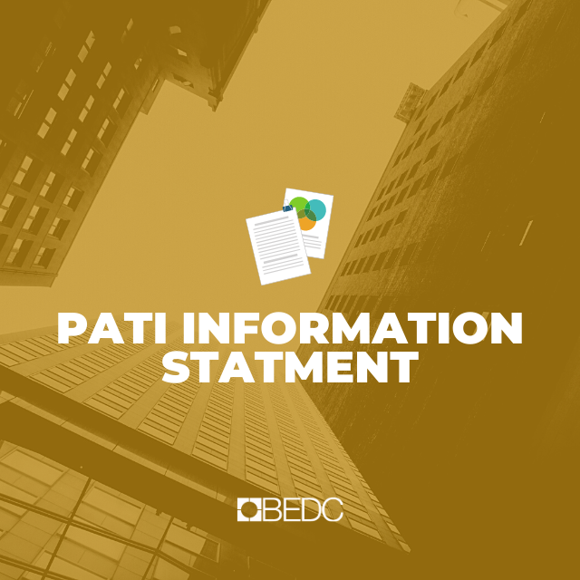 2020 BEDC PATI Information Statement