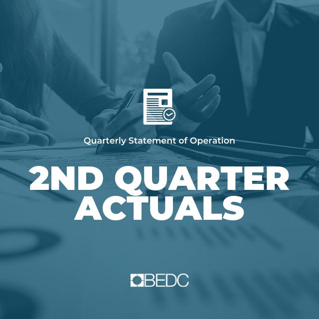 2nd Quarter 2020-2021 Actuals
