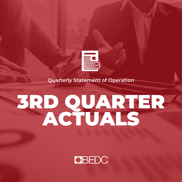 3rd Quarter 2018-2019 Actuals